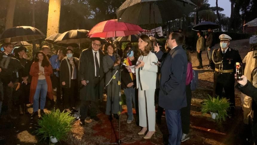 Colombia inaugura en Roma una calle en honor a Gabriel García Márquez