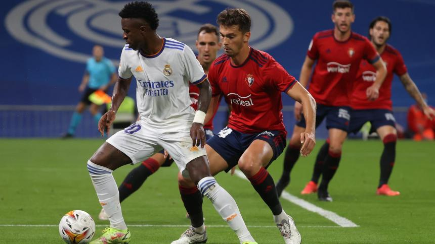 Real Madrid vs. Osasuna: Vinicius Junior volvió a ser el agitador