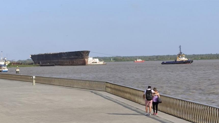 La historia del barco que se volvió atractivo turístico en el Malecón