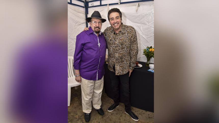 Hansel y Raúl: homenajeados en el Carnaval de las Artes