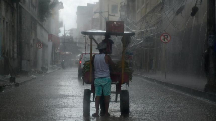 Fuertes lluvias vuelven a azotar a Barranquilla