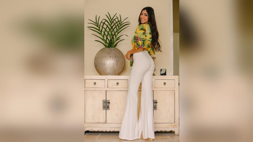 Fhiorella  Contreras, confianza y encanto cartagenero