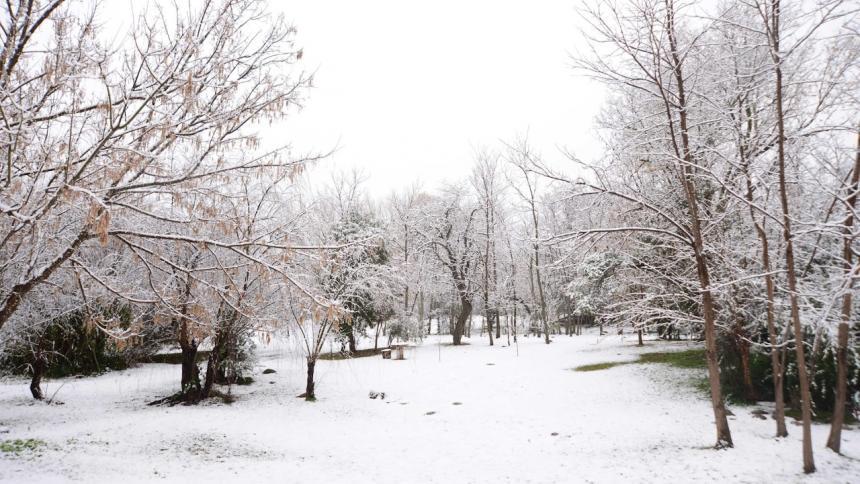 La nieve cubre la ciudad argentina de Córdoba por primera vez en 14 años