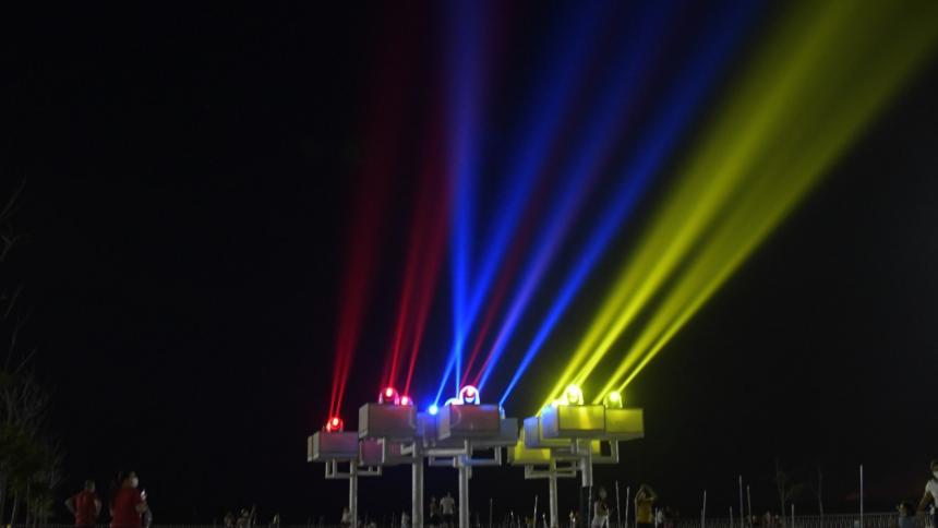 Puerta de Oro enciende luminarias para celebrar  independencia de Colombia
