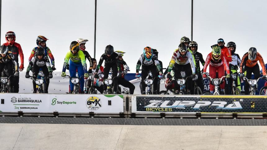 En Barranquilla se vive el BMX con los mejores bicicrocistas del país