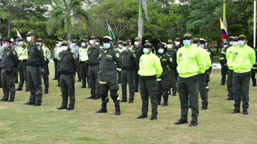 Más pie de fuerza para Barranquilla y Soledad