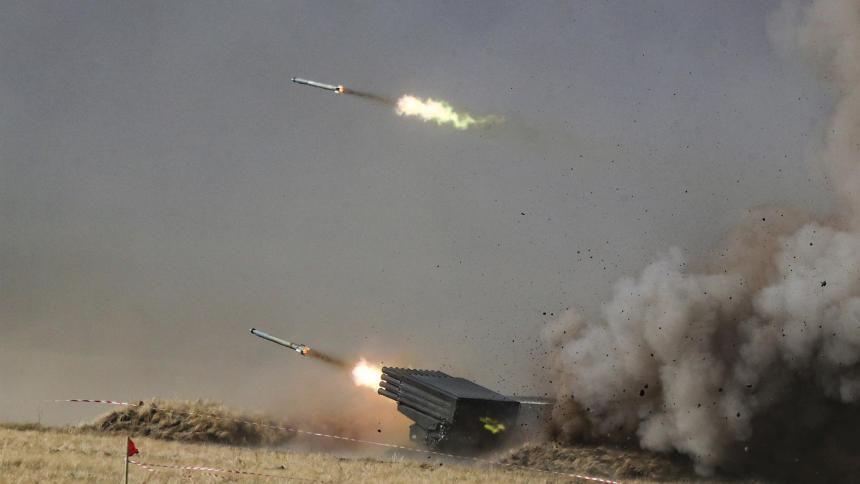 Ejercicio militar conjunto antiterrorista Misión de Paz-2021