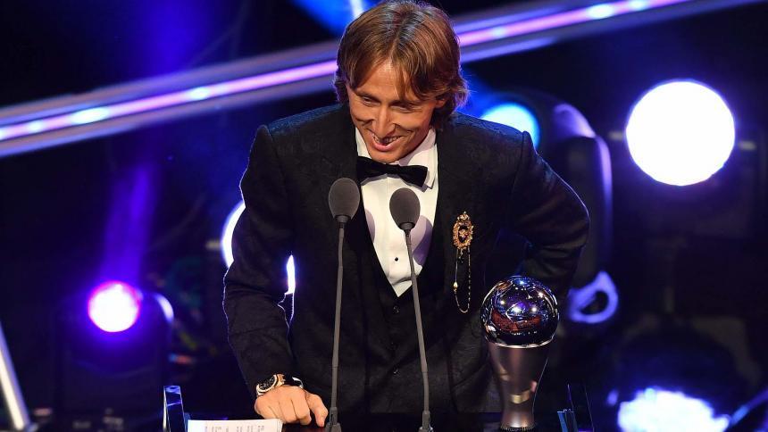 En video   Con estos goles Luka Modric se coronó como el mejor jugador de 2018