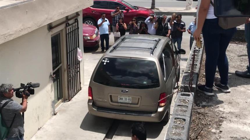 Comienza traslado de cuerpos de salvadoreños ahogados en frontera México-EEUU