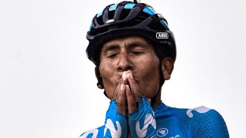 En video | Nairo Quintana se despide con lágrimas del Movistar