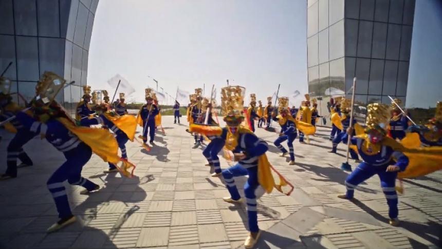 Las 'Escobitas' homenajean al Congo Grande en el Carnaval virtual