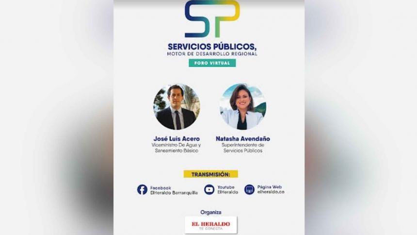 Foro: Servicios públicos, motor de desarrollo regional