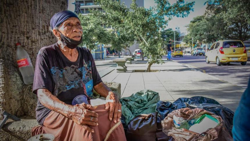 En imágenes | La vida de los habitantes de calle en medio de una pandemia