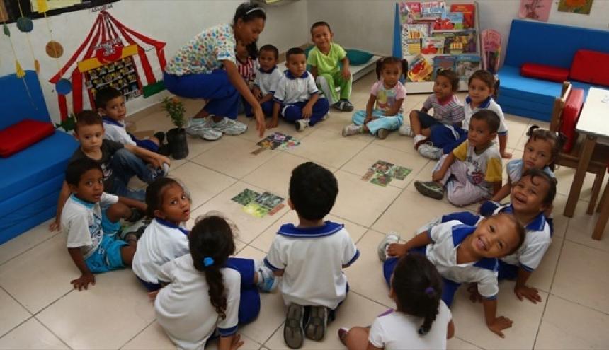 Para el 2018 se pretende atender integralmente a 1,5 millones de niñas y niños en el país.