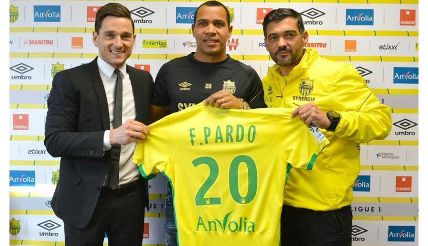 Este es el tercer equipo en el que jugará el colombiano en Europa.
