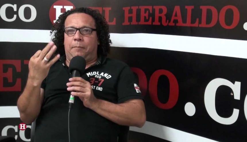 Joselo de Colombia en una visita anterior a EL HERALDO.