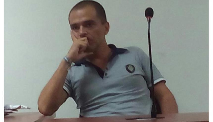 Jaime David Parra Barrera, en una audiencia el año anterior.