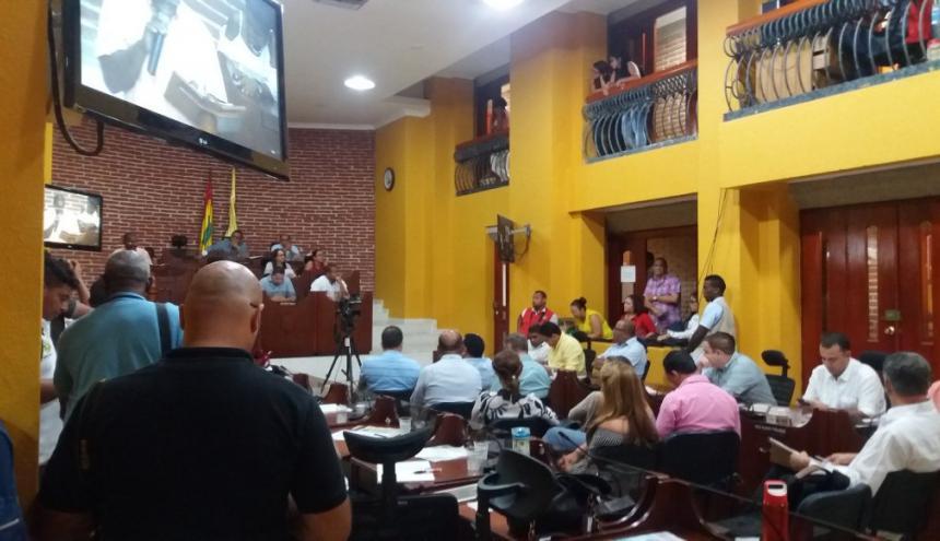 Audiencia pública sobre peaje 'social' de Barú.