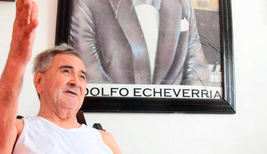 Al maestro Adolfo Echeverría, de 82 años, también le amputarán la pierna derecha.