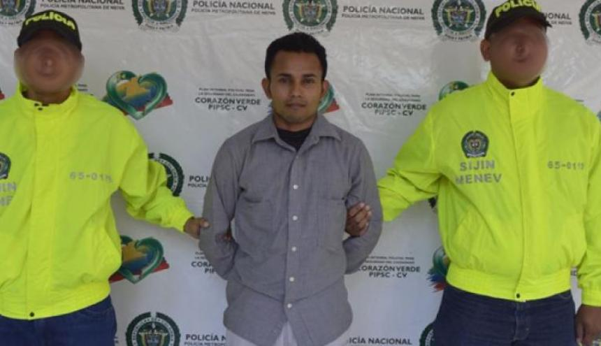 Erneison González, condenado como confeso autor de feminicidio agravado
