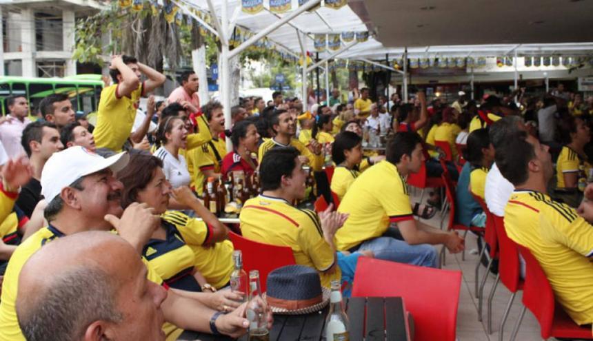 Los estaderos de la ciudad los que más concentran consumidores durante los partidos.