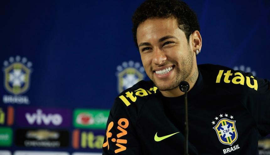 Neymar, jugador del Barcelona.