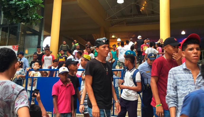 Centro Comercial donde se realizó la jornada de cine gratis en Cartagena.