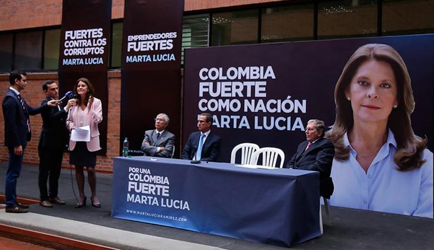 Marta Lucía Ramírez inscribió  su comité recolector de firmas esta semana.