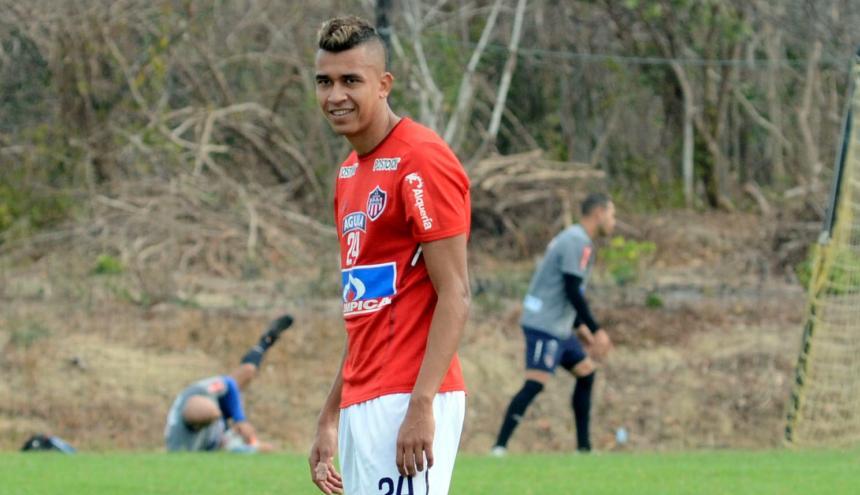 Víctor Cantillo se mostró muy motivado y feliz por su primer llamado al combinado patrio.