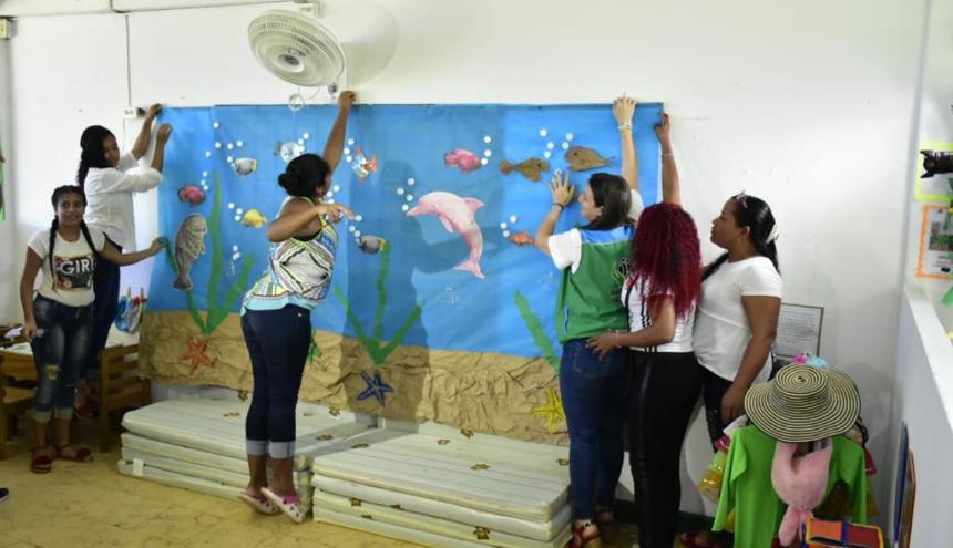 En el Atlántico, el instituto implementará la transformación de los ambientes pedagógicos en 4.443 unidades de servicios .