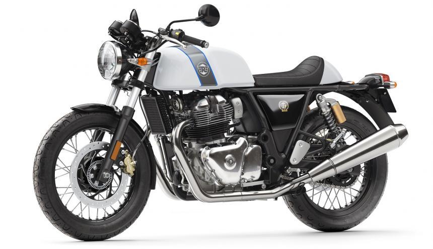 Las motocicletas están disponibles en una variedad de colores.
