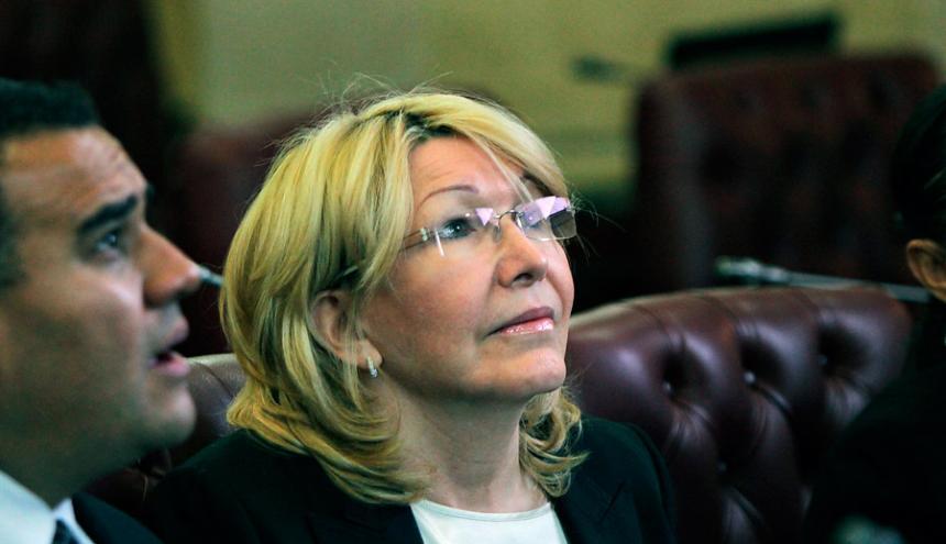 Luisa Ortega, exfiscal general de Venezuela.