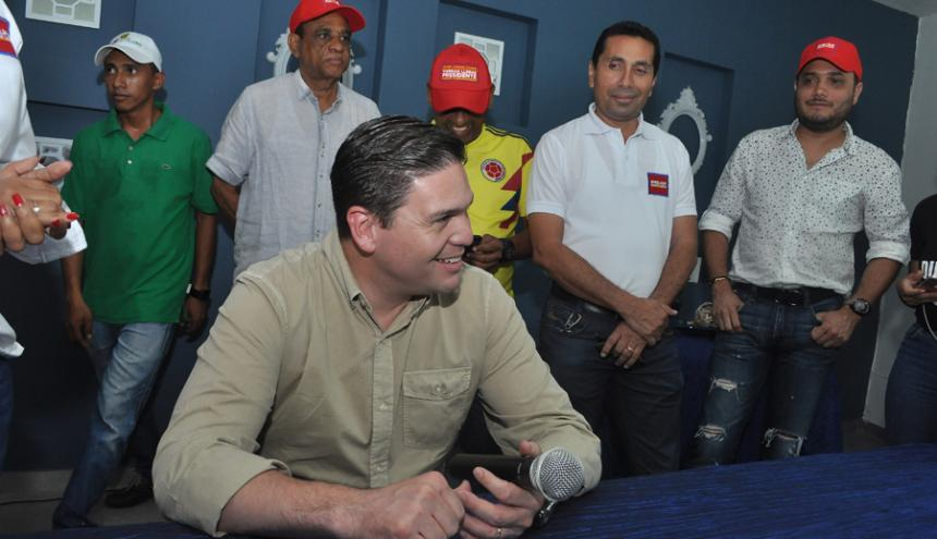 Juan Carlos Pinzón, candidato a la Vicepresidencia.