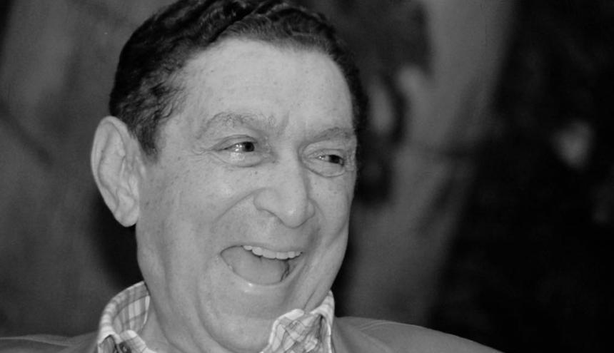El cantautor vallenato Rafael Escalona, en una de sus tantas entrevistas.