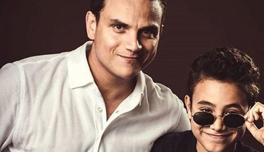 'El Mónaco' participó en la producción del nuevo álbum de su padre Silvestre Dangond.