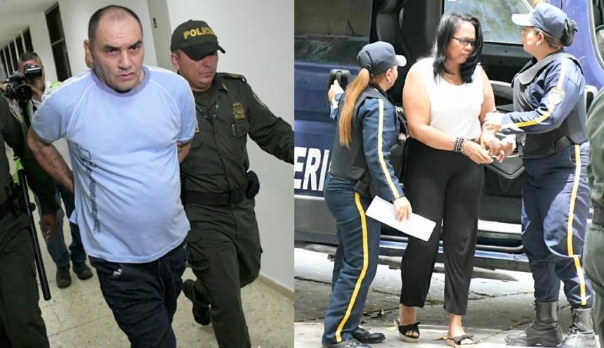 Nilson Mier y Dalila Duarte, la pareja capturada por los atentados en la Estación San José y el CAI de Soledad 2000.