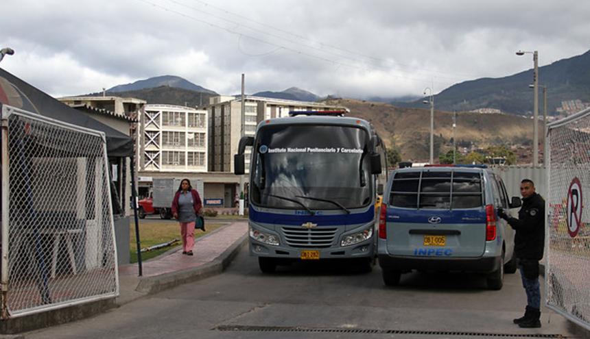 Cárcel La Picota de Bogotá.