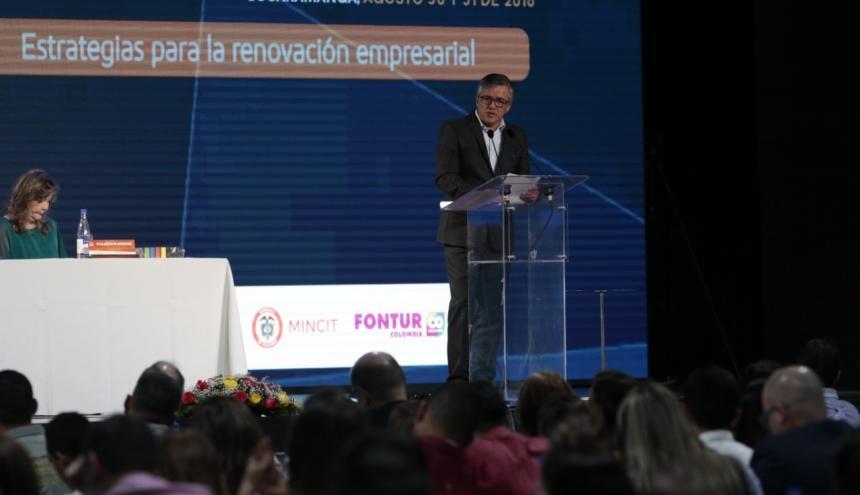 Juan Pablo Franky, viceministro de turismo designado.