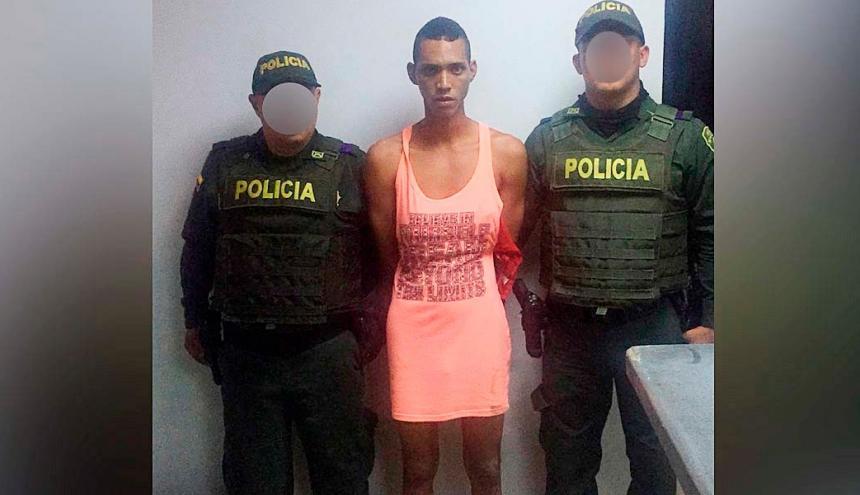 Jacob Alfredo Cruz Utria , capturado.