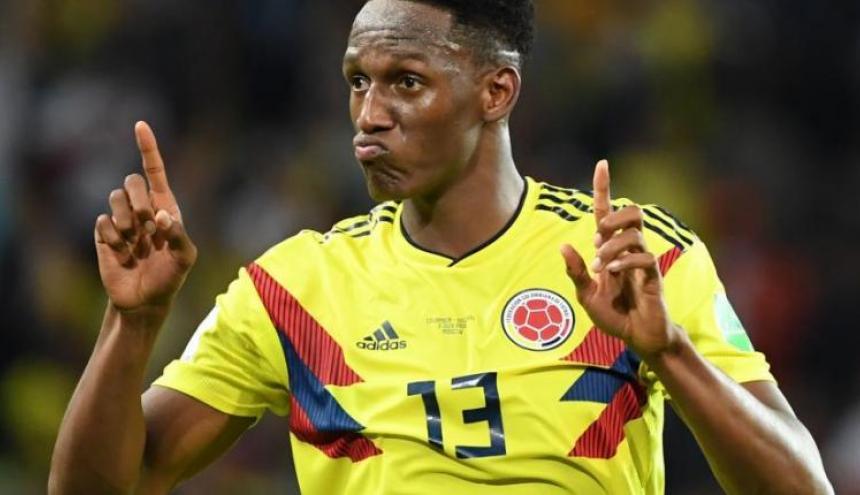 Yerri Mina, futbolista colombiano.