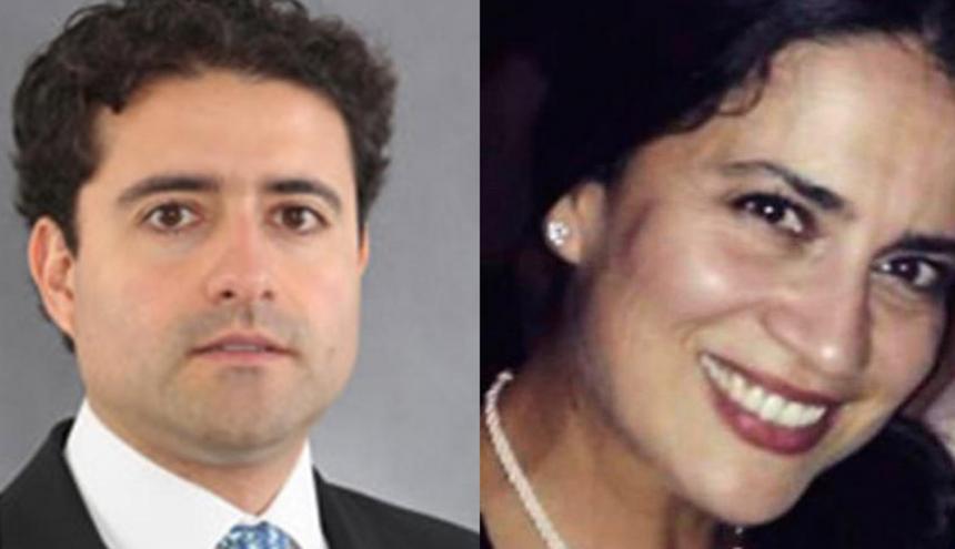 Los hermanos Francisco y Catalina Uribe Noguera.