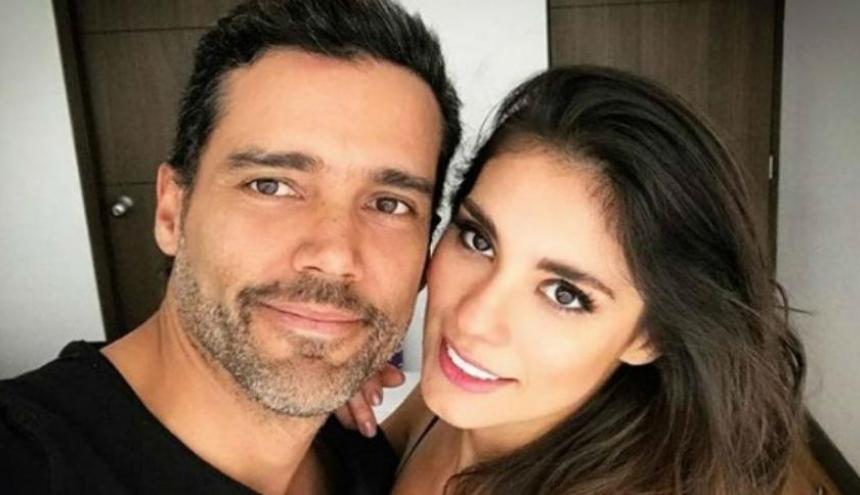 Alejandro García y Eileen Moreno mantenían una relación amorosa.