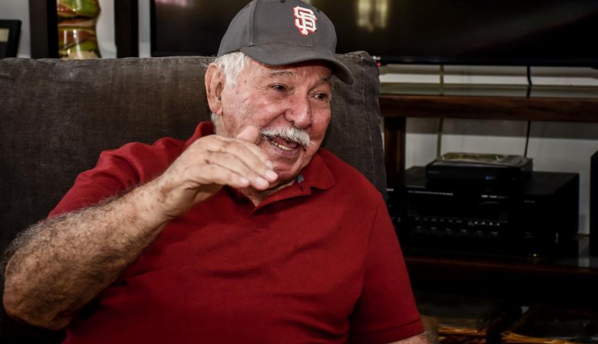 El barranquillero Edgardo Schemel, a sus 80 años, es considerado uno de los mejores árbitros que tuvo la Liga Profesional de Béisbol en Colombia.