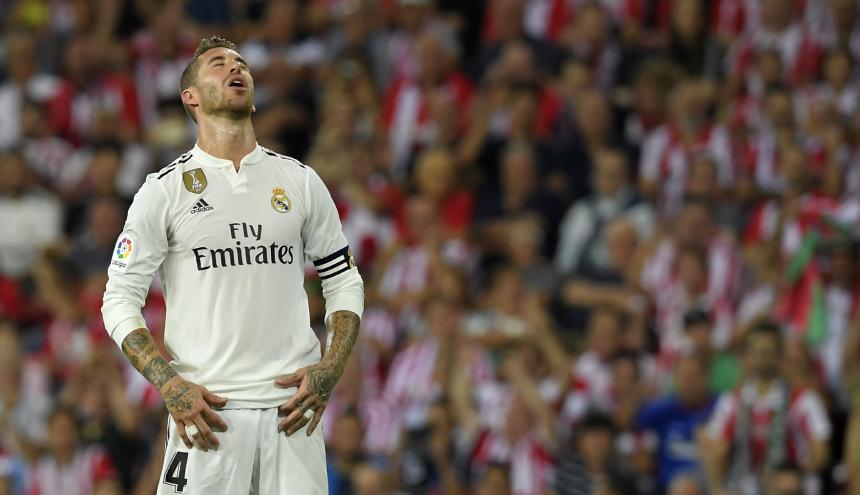 Sergio Ramos, defensa del Real Madrid.