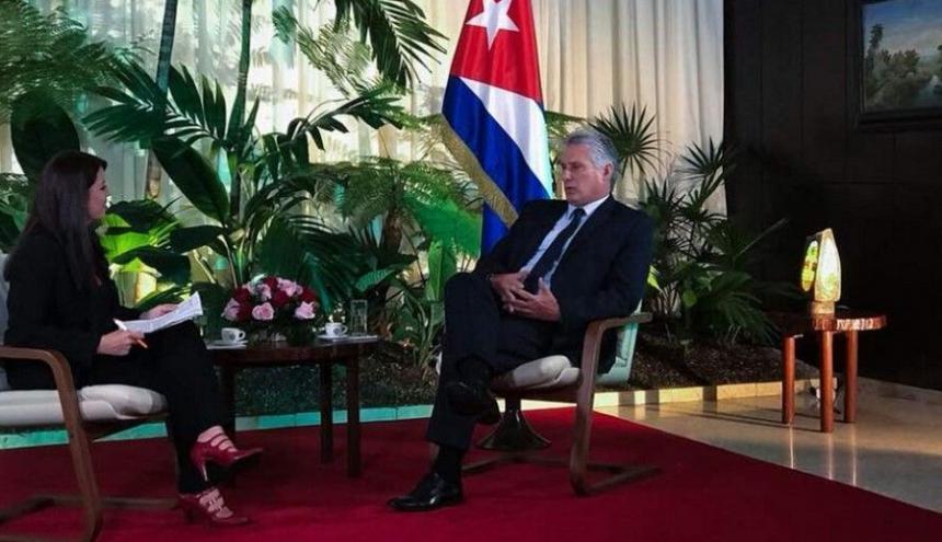 Miguel Díaz Canel, presidente de Cuba.
