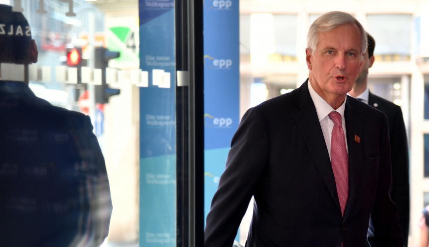 Michel Barniel, jefe negociador del Brexit.