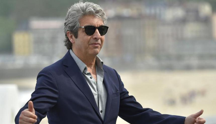 El actor argentino Ricardo Darín, de 61 años, a su llegada a la alfombra roja en la apertura del festival.