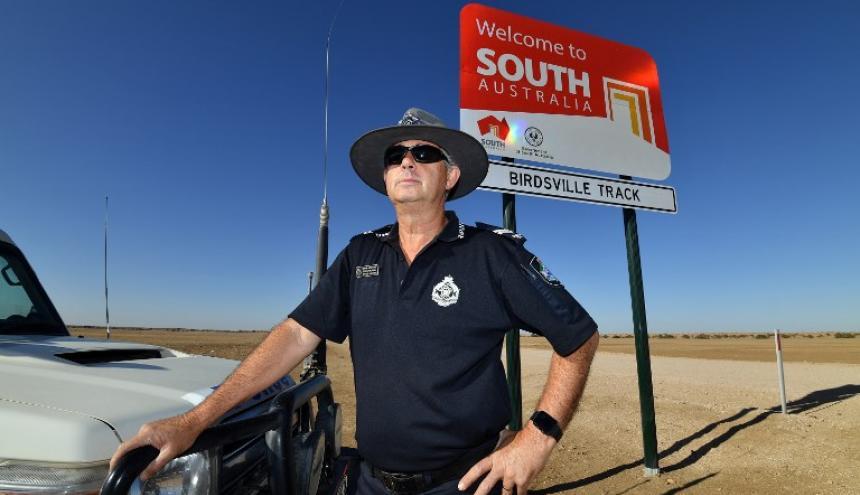 Stephen Pursell, policía australiano.