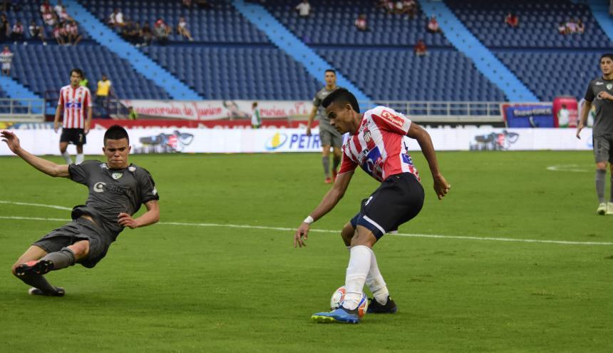 La acción de gol de Luis Díaz.