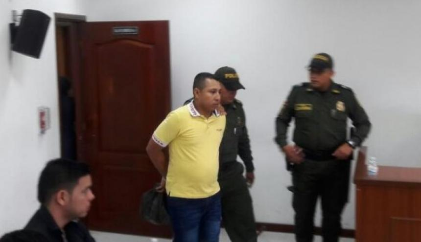 Habib Gutiérrez Silvera, alias Happy, condenado.